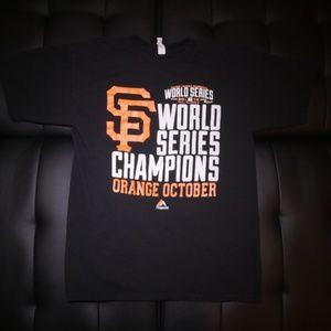 San Francisco Giants World Series Tee - sz M